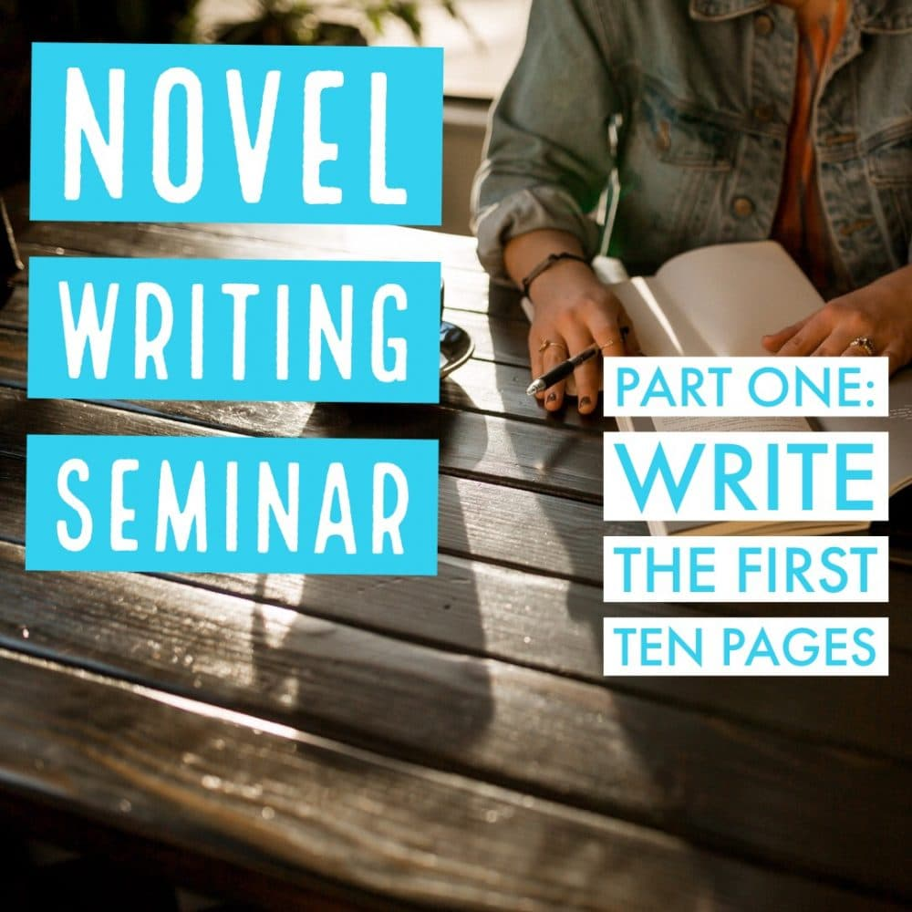 The Novel Writing Seminar Begins
